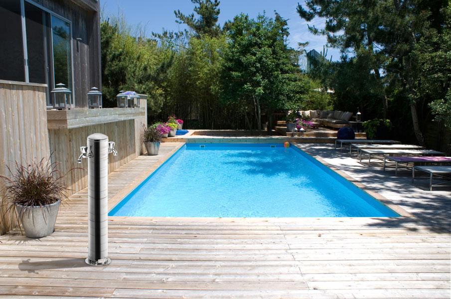 Docce solari e docce per esterno cwt piscine