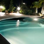 illuminazione piscina led