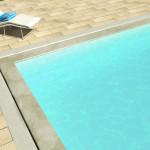 piscina sfioro fessura